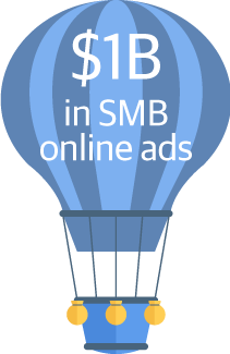 $1 billion in SMB online ads.